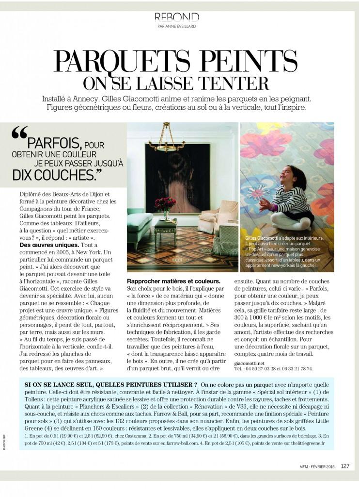 article Maison Française